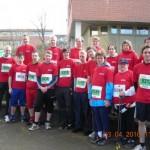 Begleitende Maßnahmen - Sport - Laufveranstaltung - Gruppenfoto