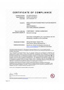 UL-Zertifikat_Wiring_Harnesses